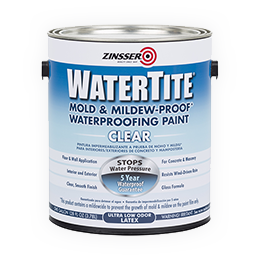 WATERTITE® CLEAR WATERPROOFING PAINT